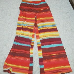 NWOT New York & Company stretch wide leg pants Sm
